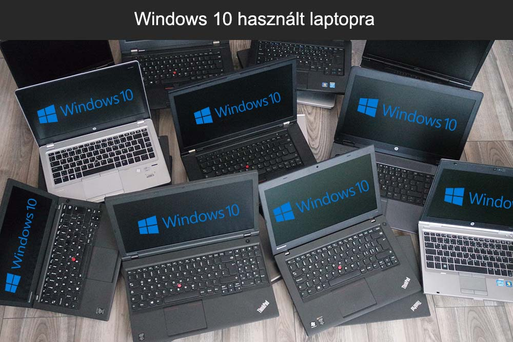 Windows 10 használt laptopra