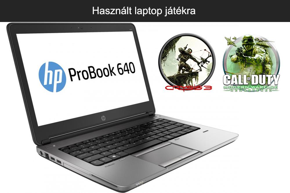 Használt laptop játékra