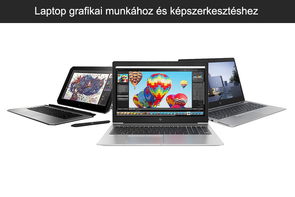 Laptop grafikai munkához és képszerkesztéshez