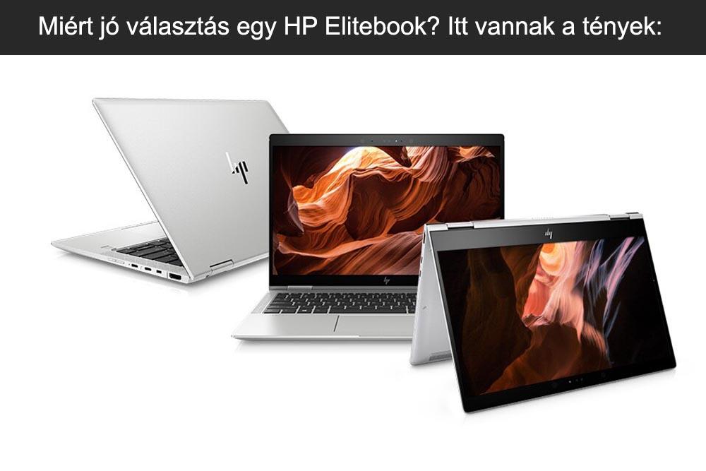 Miért jó választás egy HP Elitebook? Itt vannak a tények: