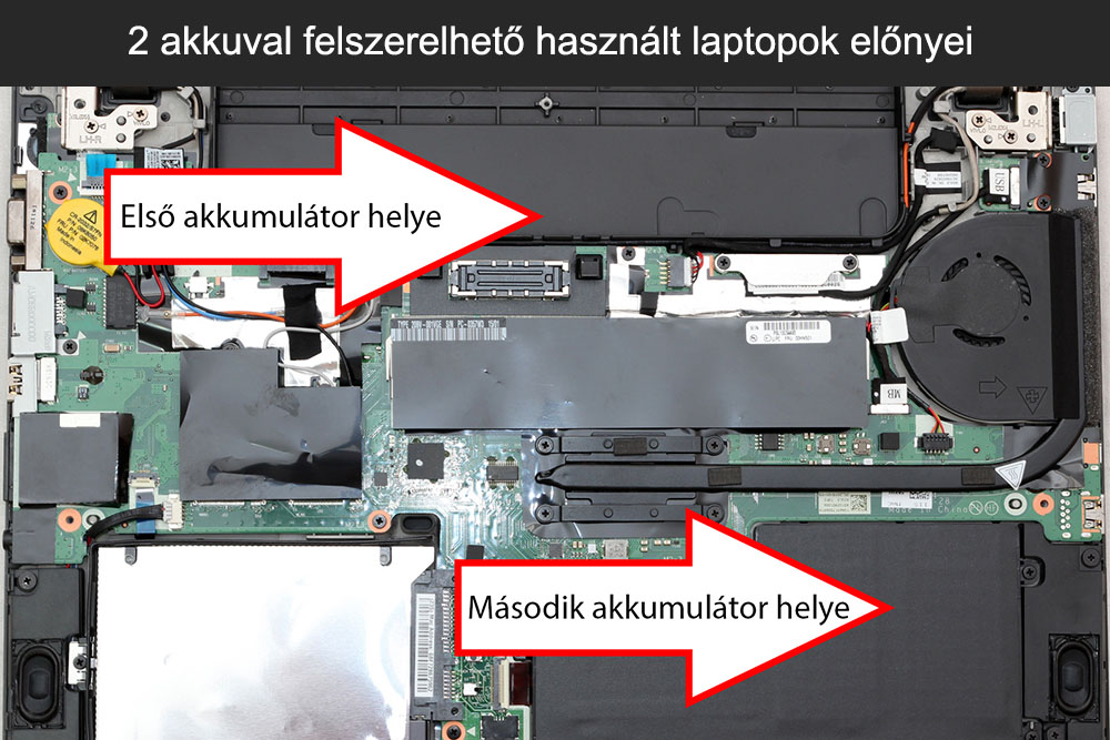 2 akkuval felszerelhető használt laptopok előnyei